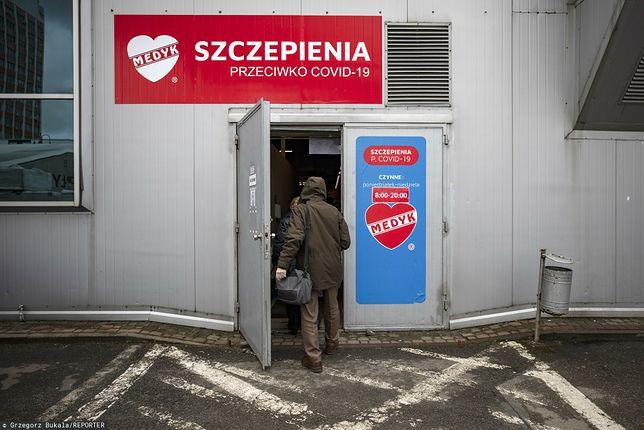 Punkt szczepień w Rzeszowie