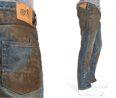 Brudne dżinsy są teraz modne