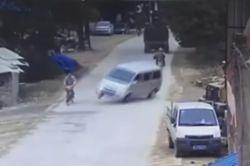 #dziejesiewmoto: po awarii hamulców kierowca driftem ratuje sytuację