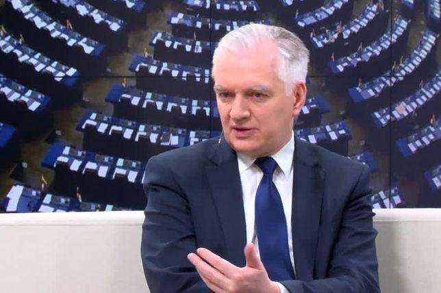 Jarosław Gowin: przepraszam tych, którzy poczuli się dotknięci
