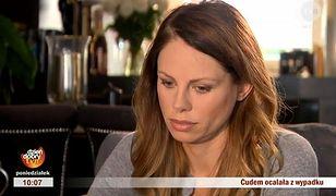 """""""Dzień dobry TVN"""": Magda Modra opowiada o tragicznym wypadku"""
