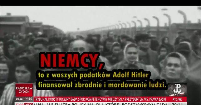 """TVP Info zaskakuje antyniemieckim spotem. """"Nie zakłamujcie historii!"""""""