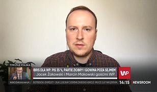Kryzys w koalicji rządzącej. Marcin Makowski o sondażach wyborczych: to pisanie kijem po wodzie