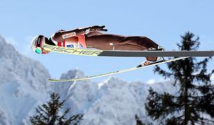 Kamil Stoch oddał dwa bardzo dobre skoki