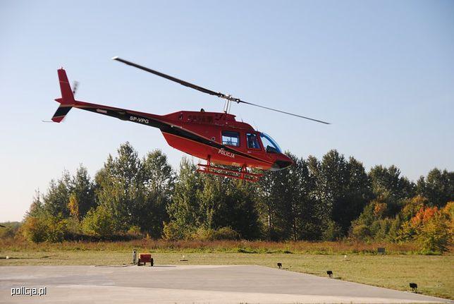 Policyjny Bell 206B ma silnik Rolls-Royce o mocy 420 koni mechanicznych