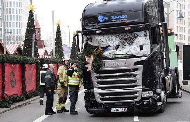 Ciężarówka, którą dżihadysta wjechał w tłum w Berlinie