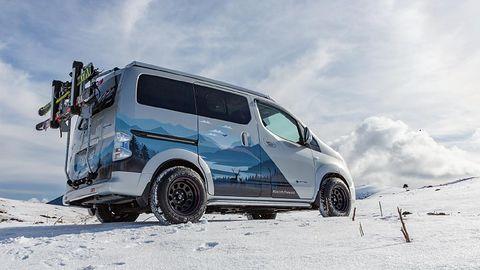 Koncepcyjny Nissan e-NV200 Winter Camper