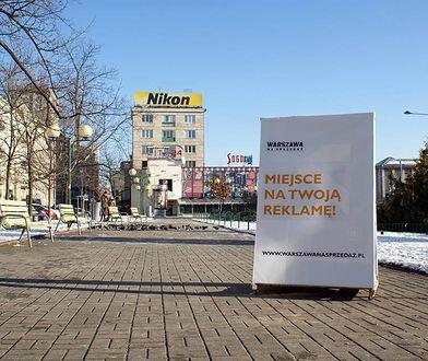 """""""Warszawa na sprzedaż"""", czyli reklama tak - ale w cywilizowany sposób"""
