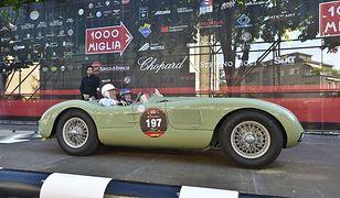 Historyczne Jaguary na Mille Miglia