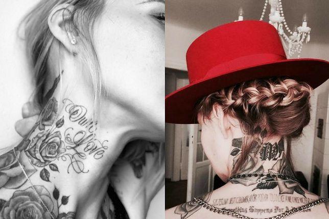 Kobiece tatuaże na plecach