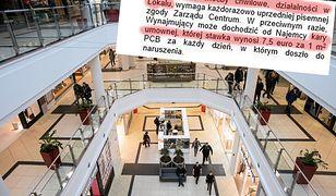 Zarządca galerii wprowadził kary dla tych, którzy nie chcą otworzyć biznesu w wolne niedziele