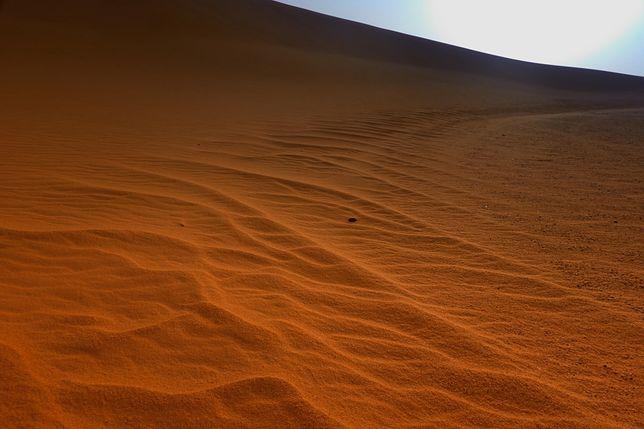 Sahara w Sudanie - zdjęcie ilustracyjne