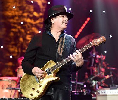 Carlos Santana nie zagra jednak w Polsce
