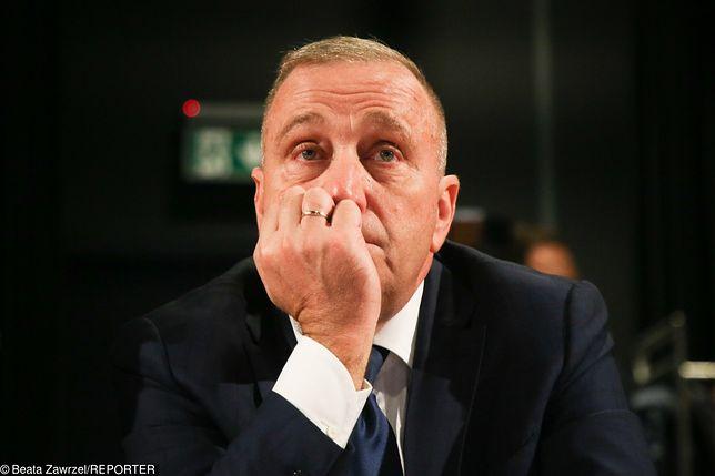 Wyniki wyborów parlamentarnych 2019. Lider PO Grzegorz Schetyna.