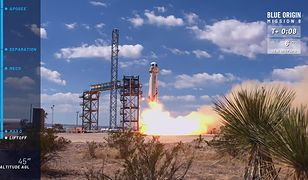 New Shepard ma zabrać pierwszych turystów w kosmos