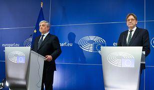 Antonio Tajani uznał, że wypowiedź Guy'a Verhofstadta nie naruszyła prawa do krytyki