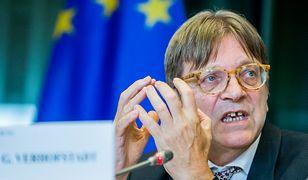 Guy Verhofstadt do Parlamentu Europejskiego został wybrany w 2009 roku