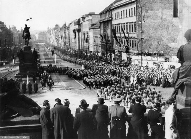 Pogrzeb Jana Masaryka w 1948 roku