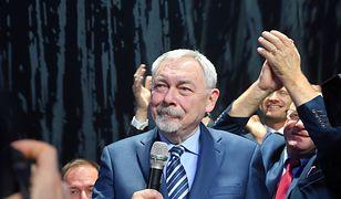 Jacek Majchrowski jest zadowolony ze swojego wyniku w wyborach samorządowych 2018