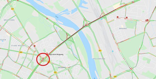 Warszawa. W piątek rano doszło do wypadku na S8 w kierunku Poznania