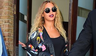 LOOK OF THE DAY: Beyonce we wzorzystym kimonie