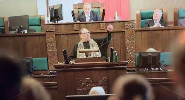 Patryk Vega pokazał krótki klip z udziałem Bielskiej. Aktorka komentuje.