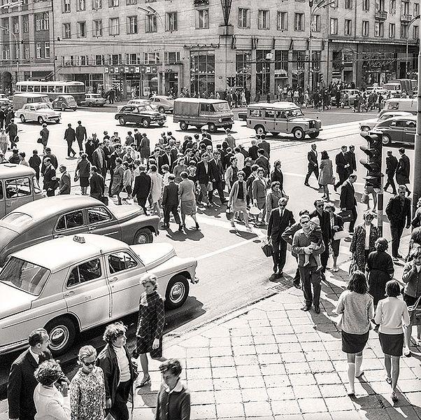 Nieznane zdjęcia Warszawy lat 60.