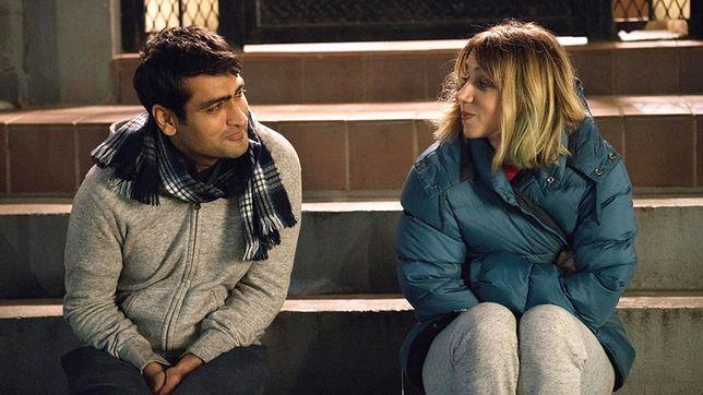 W głównych rolach Zoe Kazan i Kumail Nanjiani, nazywany pakistańskim Hugh Grantem