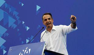 Kyriakos Mitsotakis, lider Nowej Demokracji