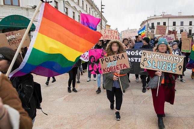 Środowiska LGBT na lubelskiej Manifie