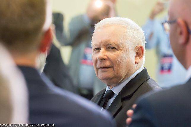 Jarosław Kaczyński znowu triumfuje
