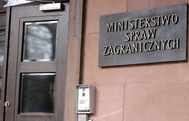 Do MSZ wezwano ukraińskiego dyplomatę