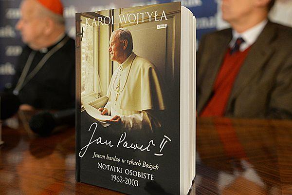 """Prezentacja książki Karola Wojtyły """"Jestem bardzo w rękach Bożych. Notatki osobiste 1962-2003"""""""