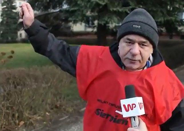 Protest ponad 300 osób przez bramą kopalni w Rudzie Śląskiej - film