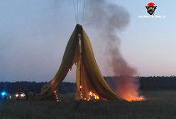 Wielkopolska: balon spadł na linię energetyczną