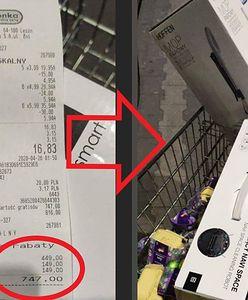 Biedronka miała poważny błąd w... promocji. Klienci płacili 20 zł, dostawali towar za ponad 1000 zł