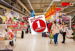 Wyprzedaże w supermarketach i dyskontach. W Auchan 1000 produktów po 1 zł, Biedronka oferuje coś gratis