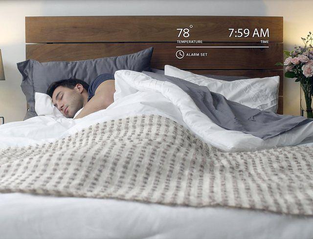 Nowoczesna sypialnia: nocna zabawa w ciepło - zimno