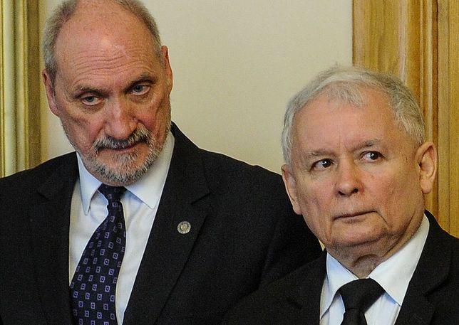 Antoni Macierewicz był bardzo aktywny podczas gdy Jarosław Kaczyński się leczył