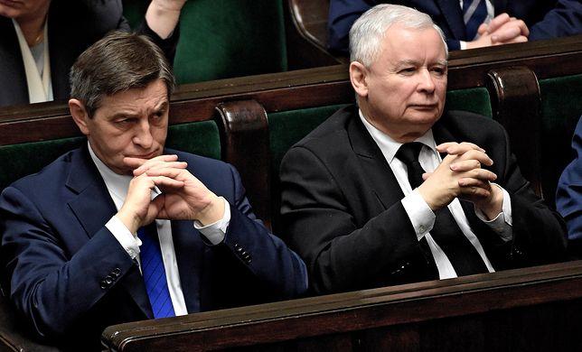 Marek Kuchciński myślami jest już ponoć w Brukseli
