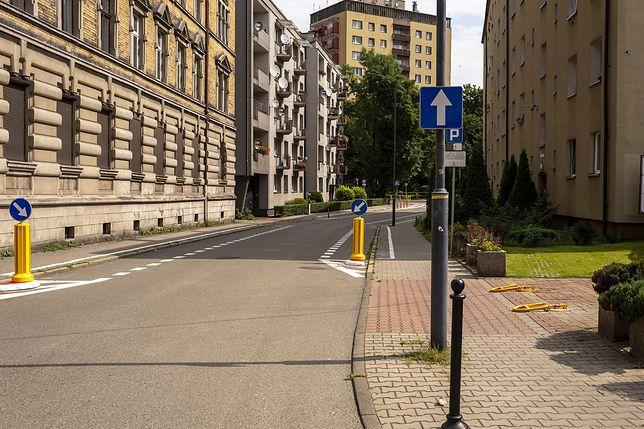 Bytom. Na kilku ulicach w mieście zmieniał się organizacja ruchu.