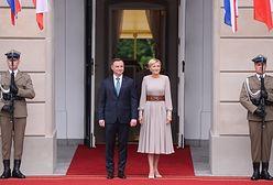 Para książęca w Pałacu Prezydenckim