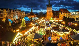 Gdański Jarmark Bożonarodzeniowy. Jest jednym z najpiękniejszych w Europie