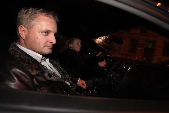 Piotr Misztal z narzeczoną Renatą Kompą