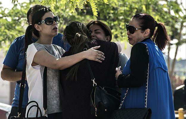Rodziny pasażerów zaginionego samolotu