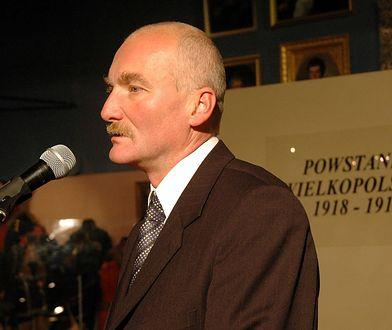 Maciej Frankiewicz na uroczystościach rocznicowych Powstania Wielkopolskiego w 2005 r.
