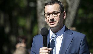 """Wybory 2020. Mateusz Morawiecki ostro o poglądach Trzaskowskiego. Padły słowa o """"idolach"""""""