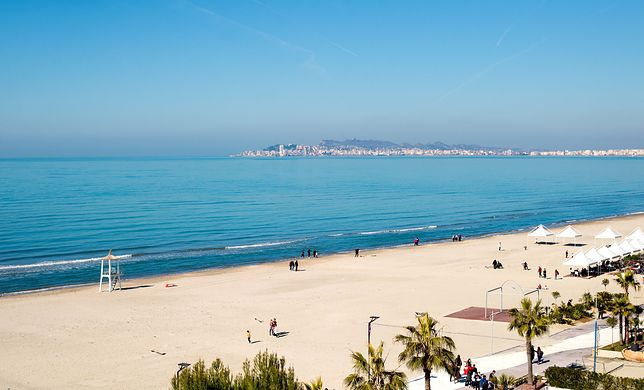 Plaża niedaleko Durres