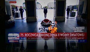75. rocznica zakończenia II wojny światowej. Andrzej Duda złożył kwiaty przy Grobie Nieznanego Żołnierza