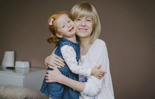 Katarzyna Cieślak z córką